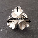 Snow Flower Ring